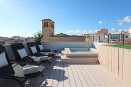 Mallorca Hotels Palma de Mallorca Summum Prime Boutique Hotel Dachterrasse