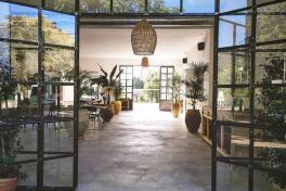Mallorca Restaurants Valldemossa Es Taller Eingang
