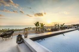 Mallorca Restaurants Playa de Palma Katagi Blau im Llaut Hotel Blick von Terrasse