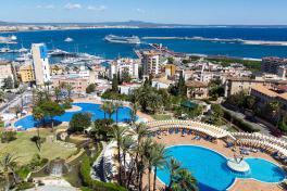 Mallorca-Hotels-Palma-Valparaiso-Aussicht