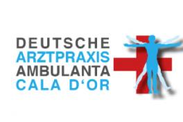Mallorca Ärzte Cala d'Or Dusche Arztpraxis Ambulanta Logo