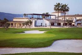 Mallorca Golf T-Golf Poniente Magaluf Calvia Loch 1 Finale