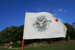 Mallorca Golf La Reserva Rotana bei Manacor Fahne
