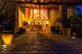 Mallorca Hotels Soller Fincahotel Can Coll Eingang