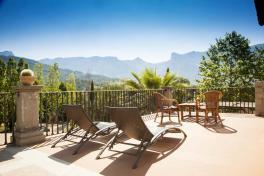 Mallorca Hotels Landhotels Fincahotels Soller Westküste Ca N'Ai Terrasse Junior Suite