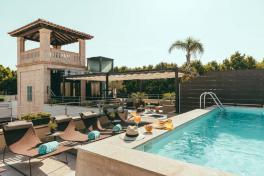 Mallorca Hotels Palma Can Alomar Piscina und Turm