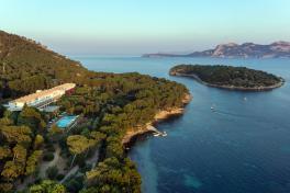 Mallorca Hotels Port de Pollenca Barcelo Formentor Luftaufnahme