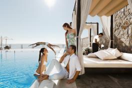 Mallorca Hotels Barceló Illetas Albatros Poolszene