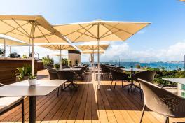 Mallorca Hotels Palma Es Princep Dachterrasse mit Blick