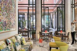 Mallorca Best Hotel Palma de Mallorca Hotel Mama Cappuccino Cafe Wintergarten
