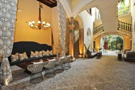 Mallorca Hotels Palma Boutique Hotel Palacio Can Marques Patio Totale