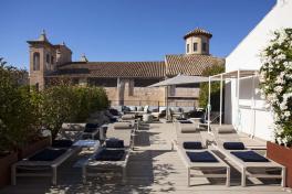 Mallorca Hotels Palma Sant Jaume Pool Dachterrasse