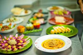 Mallorca Restaurants Palma Bon Bloc vegetarisch Auswahl
