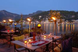 Mallorca Restaurants Port de Soller Agapanto Bucht