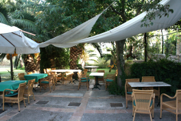 Mallorca Restaurants Valldemossa Can Costa Terrasse