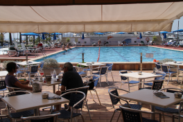 Mallorca Restaurants Palma Club Nautico Arenal Terrasse