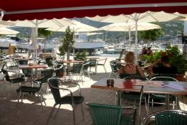Mallorca Restaurant Port de Soller Domenico Blick