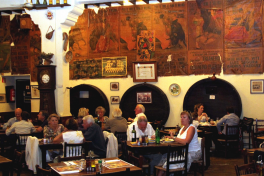 Mallorca Restaurant Palma Celler Sa Premsa innen