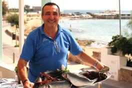 Mallorca Restaurant Ciutat Jardi Palma Italienisch Almare Patron Lorenzo