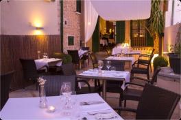 Mallorca Restaurants Soller Can Boqueta Tische
